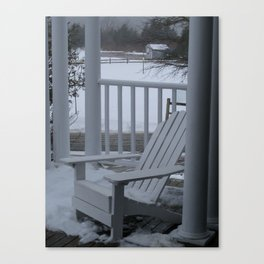 Winter Seaside 2 Canvas Print
