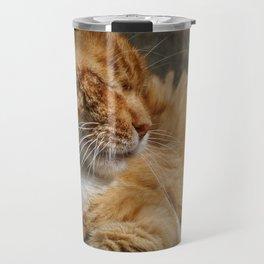 Cinque Terre Cat Travel Mug