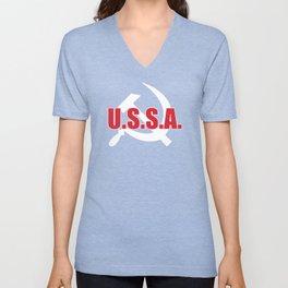 U.S.S.A. Unisex V-Neck