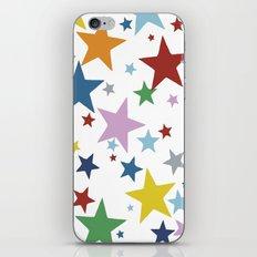 Stars Multi iPhone & iPod Skin