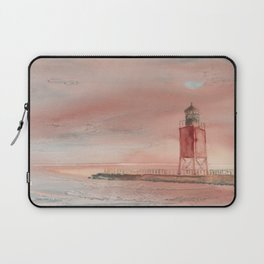Charlevoix South Pierhead Laptop Sleeve