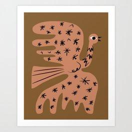 Phoenix stardust Art Print
