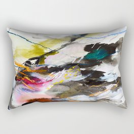 Day 56: Move gently with nature and things will fall into their rightful place. Rectangular Pillow