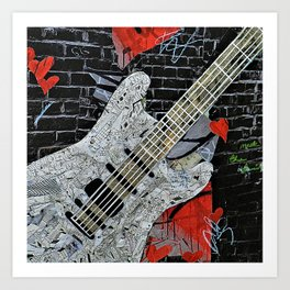 """Rockin"" Art Print"