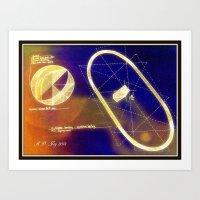 magneto Art Prints featuring Magneto by AJ Art