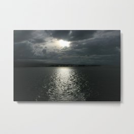 Sundown in Samoa DPG150309 Metal Print