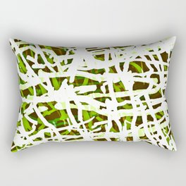 jungle lines 2 Rectangular Pillow