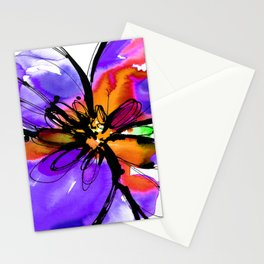 Ecstasy Bloom No.17c by Kathy Morton Stanion Stationery Cards