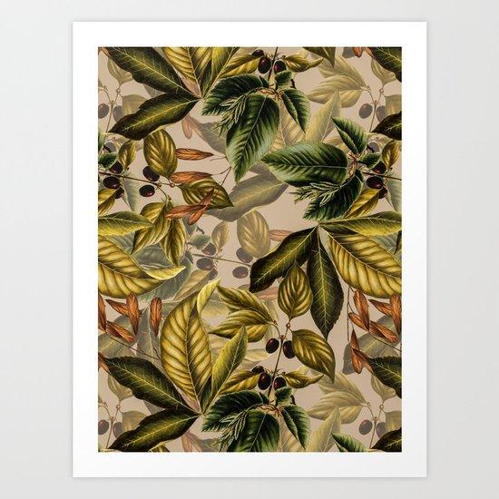 TROPICAL PATTERN-14 Art Print