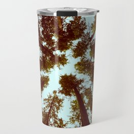 Forest Sky Vintage Trees Travel Mug