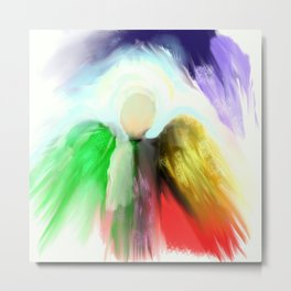 Angel in a Shawl Metal Print