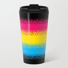 Pixel Perfect Metal Travel Mug