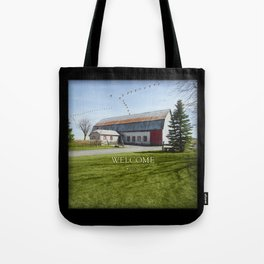 Barn & Geese - Welcome Tote Bag