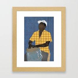 Conguero Framed Art Print