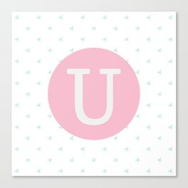 U is for Uma Canvas Print