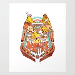 SoCal Pinball Art Print