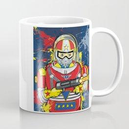 The Space Cowboy Robot  Coffee Mug