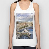 madrid Tank Tops featuring Madrid by Solar Designs