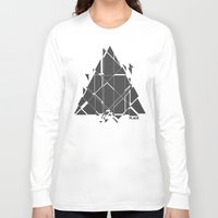 carnage Long Sleeve T-shirts featuring PLACE Triangle V2 by Sitchko Igor