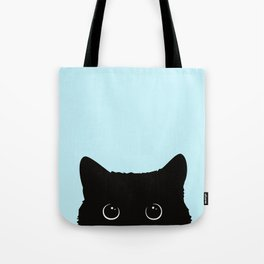 Black cat I Tote Bag