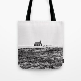 Black and White Photograph - Travel photography Tote Bag