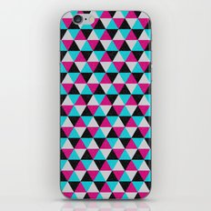 Space Triangles iPhone Skin