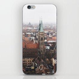 Snow in Nuremberg iPhone Skin