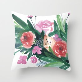 Spring Gatherings Throw Pillow