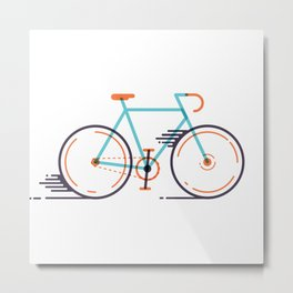 speed bike Metal Print