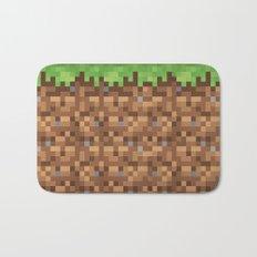 Minecraft Dirt Block Bath Mat