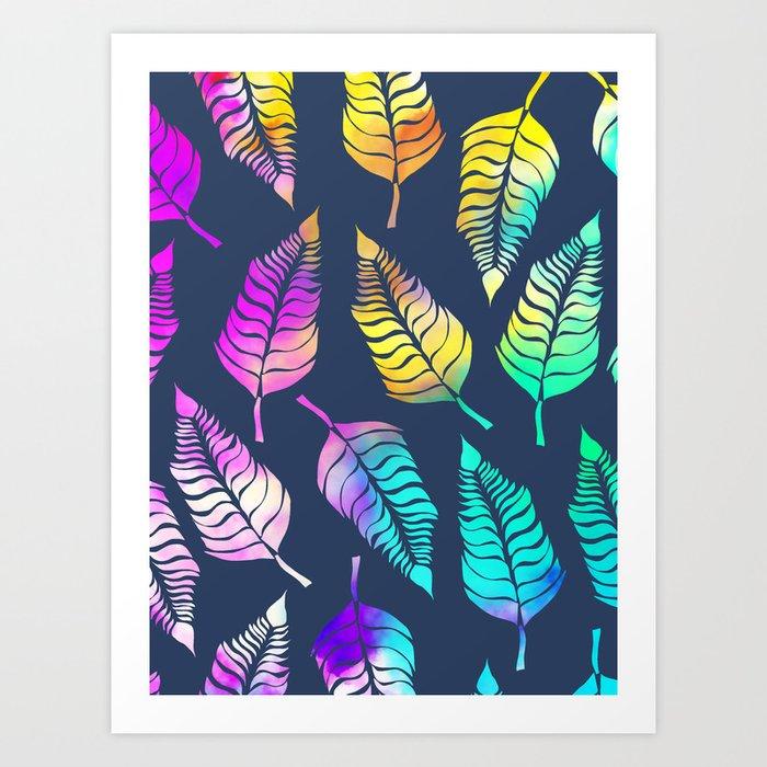 Dream Leaves One Art Print