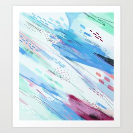 Wisps Art Print