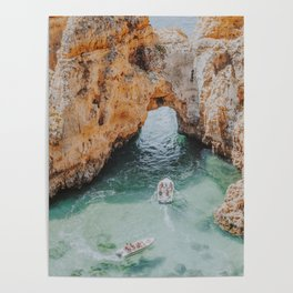 boat life iii / lagos, portugal Poster