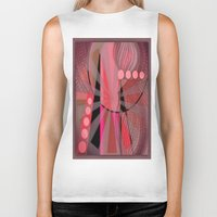 carnival Biker Tanks featuring Carnival by Kristine Rae Hanning