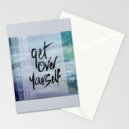 Get Over Yourself Stationery Cards