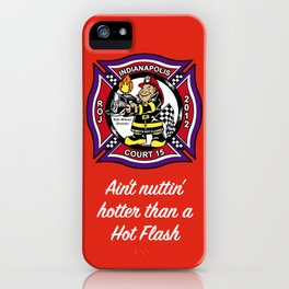Bobby's Hotflashes, Ct. 15 iPhone Case