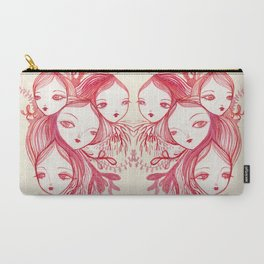 Mixed Up In A Coral World Carry-All Pouch
