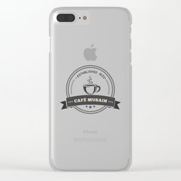 Café Musain #2 Clear iPhone Case