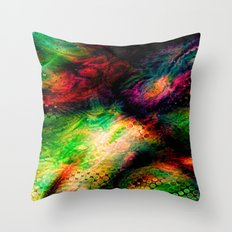 Infinite Color Throw Pillow