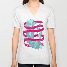 Nothing To See Here. Unisex V-Neck