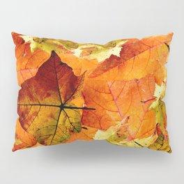 Fallen Autumn Leaves Pillow Sham