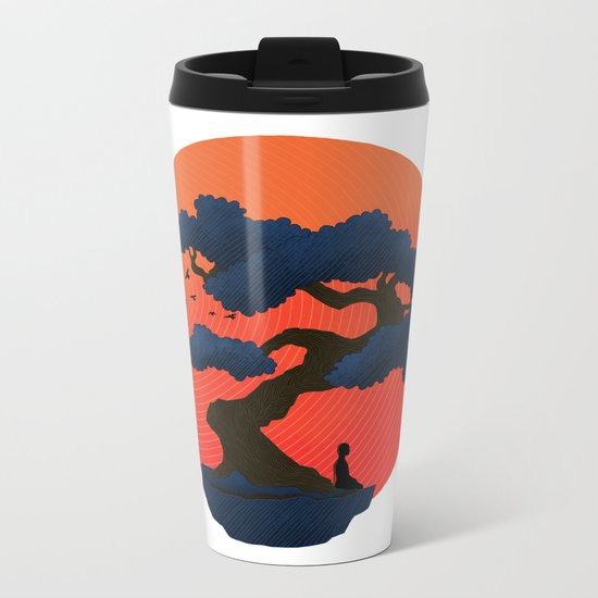 Meditation Metal Travel Mug