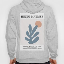 Abstract matisse cut out art, abstract matisse leaf wall art Hoody