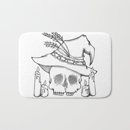 Witch Skull Bath Mat