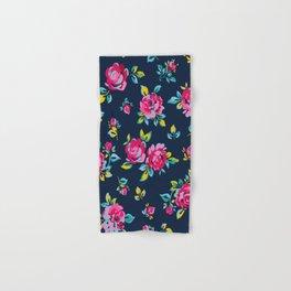 Raspberry Roses Hand & Bath Towel