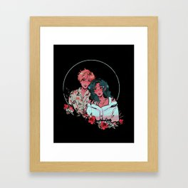 Uranus & Neptune - Sailor Moon Framed Art Print