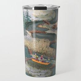 Canoeing Travel Mug