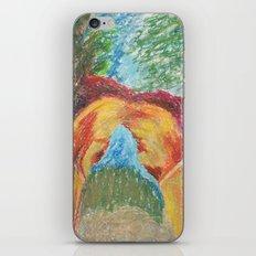 Abstract Landscape III iPhone & iPod Skin