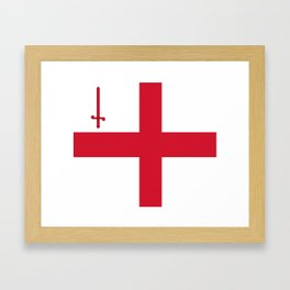 Flag of London Framed Art Print