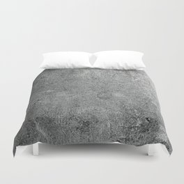 Old Leather Book Cover Lichen Duvet Cover
